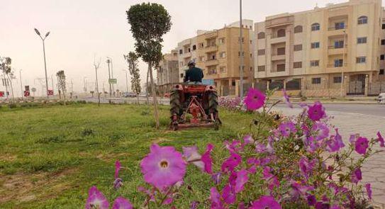 مدينة الشروق تتزين لاستقبال احتفالات 30 يونيه بالتحول الرقمي وتجميل الميادين