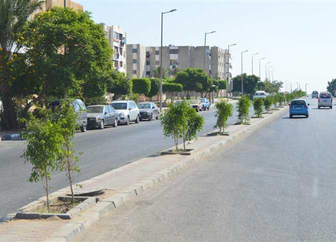 الإسكان  الانتهاء من المرحلة الأولى من مشروع رفع كفاءة محور الشباب بمدينة الشروق