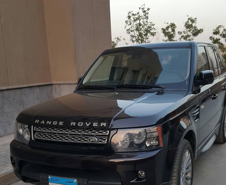 Range Rover Sport 2012 blue black