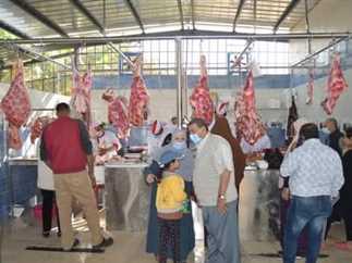 افتتاح منافذ لبيع اللحوم والدواجن والأسماك في مدينة الشروق