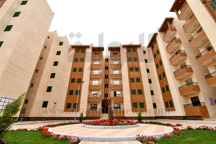 بالصور.. مشروع الإسكان الاجتماعي بمدينة الشروق