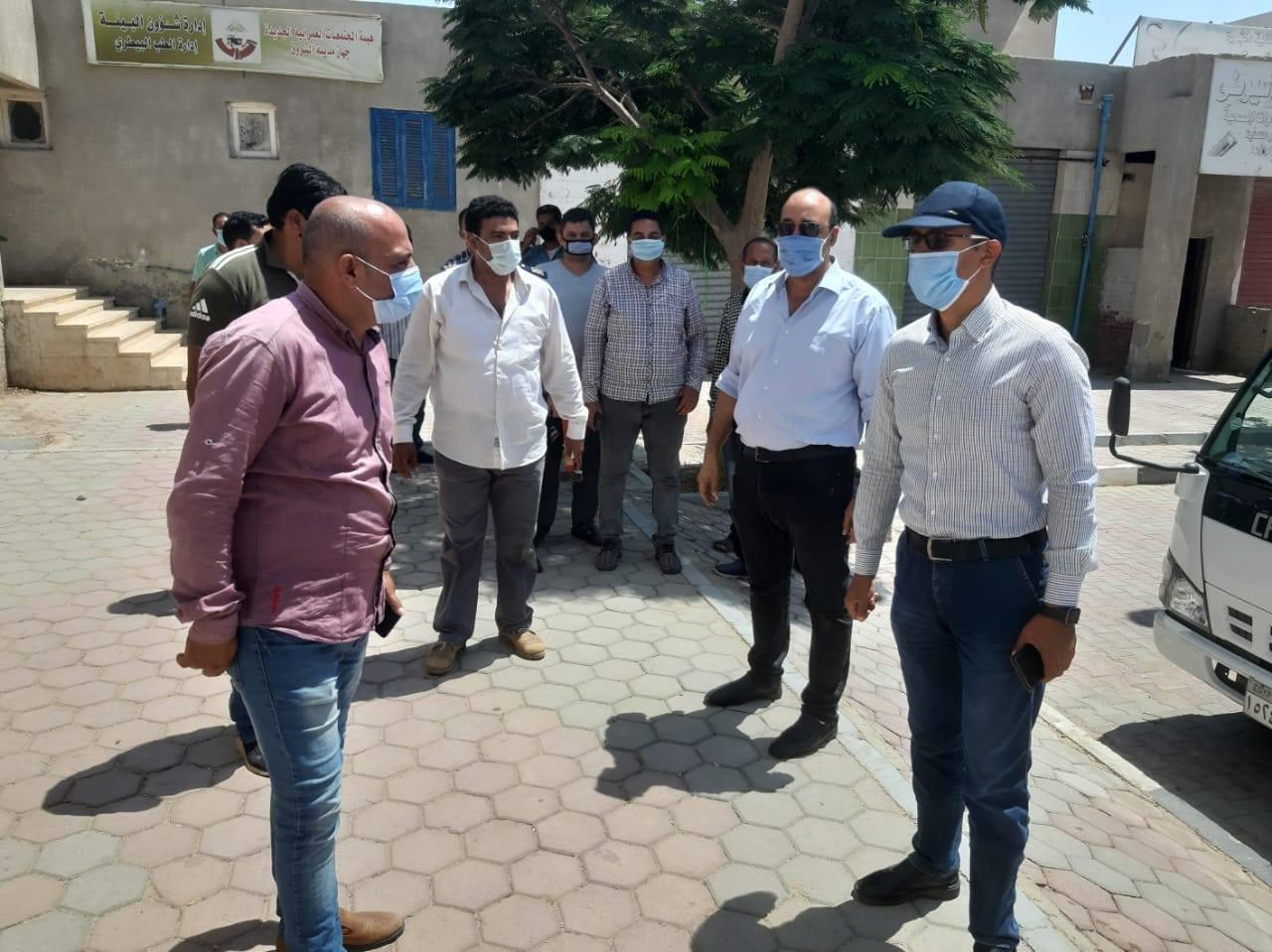 رئيس الجهاز  استرداد 8 وحدات سكنية متعدى عليها بمدينة الشروق
