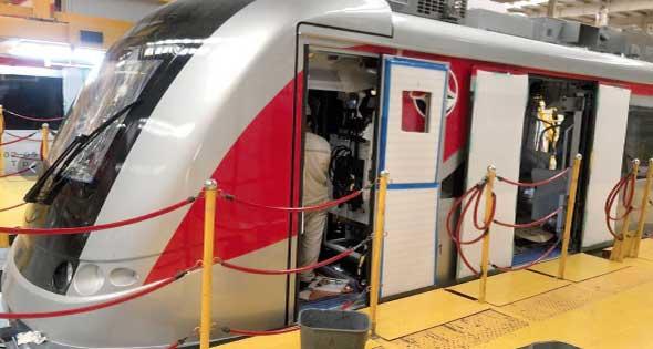 ٧٥ يوما وينطلق القطار الكهربائى نحو  العاصمة الإدارية