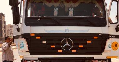جهاز مدينة الشروق ينظم حملة لضبط معدات النقل المخالفة بعدة مناطق