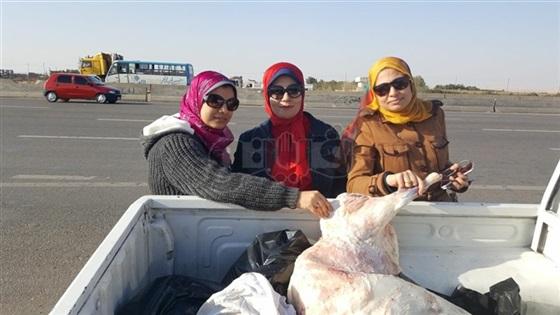 بالصور ضبط مصنعات لحوم في حالة تعفن بمحال مدينة الشروق