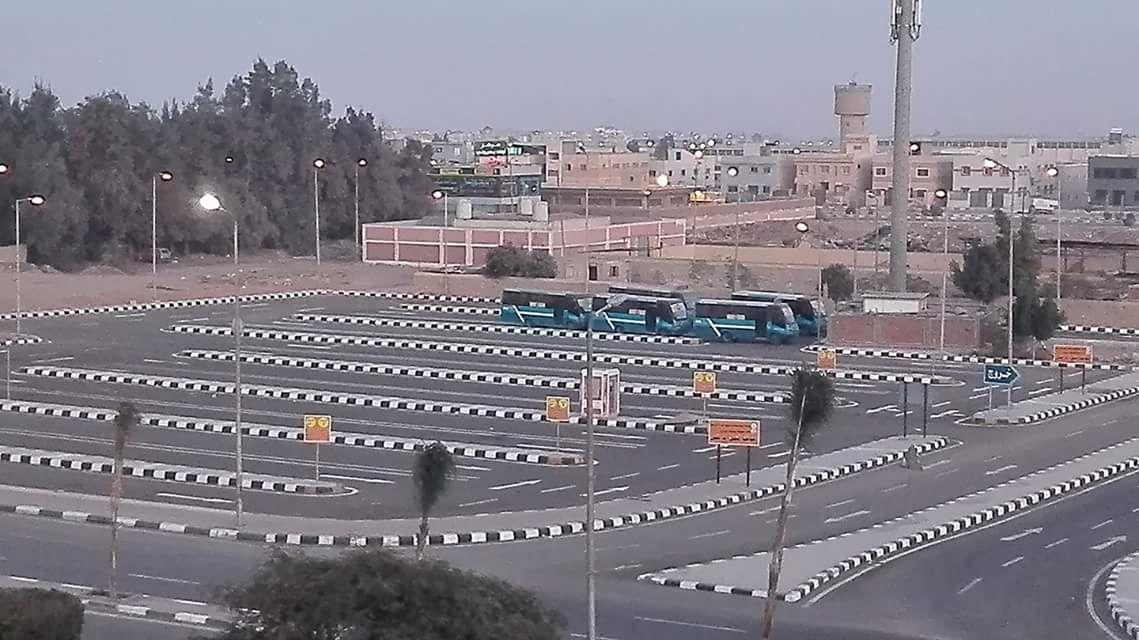 اعتماد مليون جنية لتغطية موقف النقل الداخلى بمدينة الشروق