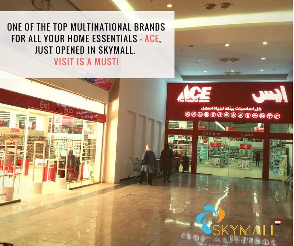 إفتتاح أكبر فرع لمعرض ACE بالشروق