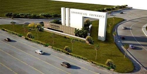 شاهد بالصور تصميم البوابة الجديدة لمدخل 2 السويس بمدينة الشروق