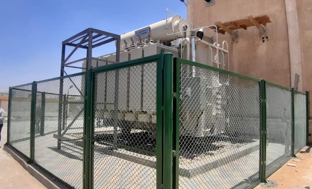 رفع كفاءة شبكة الكهرباء بمدينة الشروق لتصل إلي ١٤٠ ميجا فولت