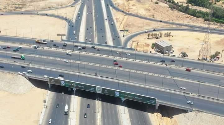 شاهد بالصور طريق السويس بعد التطوير