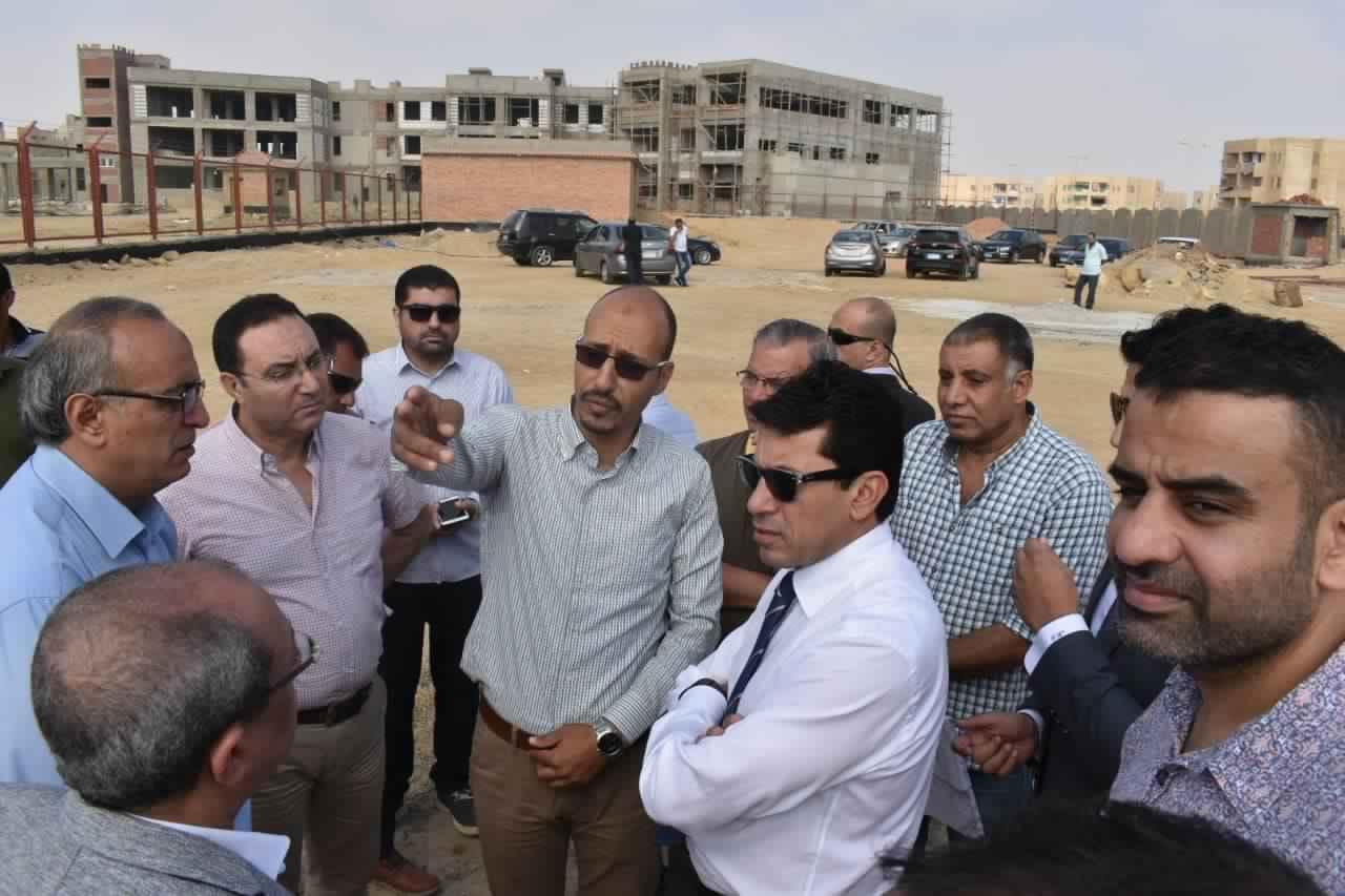 قريبا إفتتاح مركز شباب مدينة الشروق علي مساحة ١٣ فدان