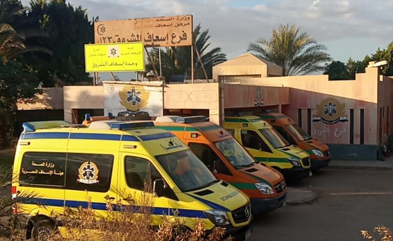 دعم المنظومة الطبية بوحدة صحية وثلاث سيارات إسعاف مجهزة لمدينة الشروق
