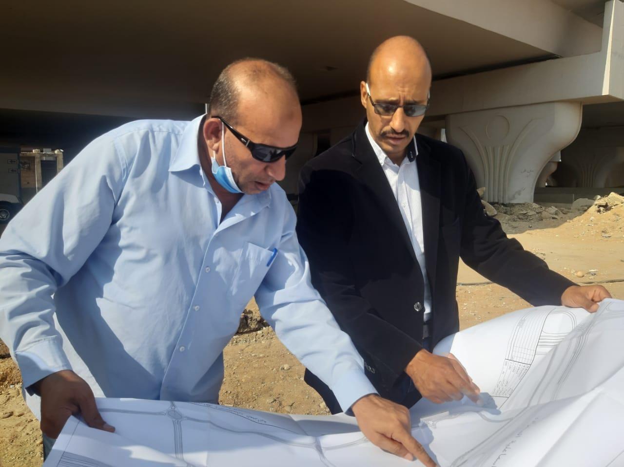 """وزير الإسكان   بدء تنفيذ """"محور شمالي"""" موازٍ لمسار القطار الكهربائي بمدينة الشروق"""