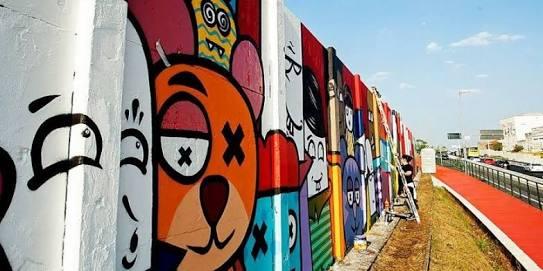 بداية من مدينة الشروق إنطلاق أكبر جرافيتي في العالم من مصر 7 سبتمبر
